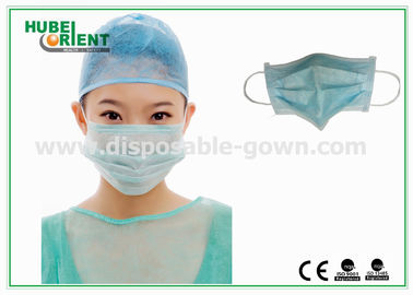 Protective Disposable Face Mask / Non Woven Disposable Surgical Masks Free Samples
