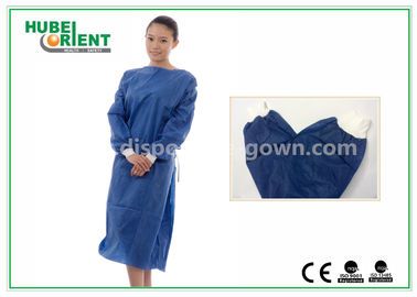 Disposable Surgical Isolation Gown / Custom Hospital Gowns With PP SMS Material
