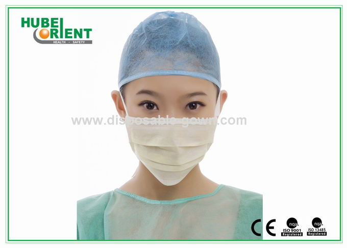 masque chirurgical jetable avec liens